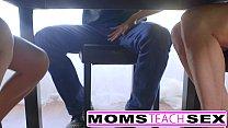 Step mom Brandi Love fucks teen daughter and friends