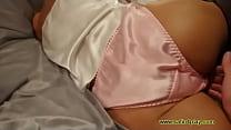 White Camisole - Pink Panties