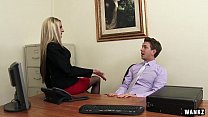 boss milf hot by sex for exploited employee Russian