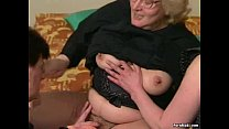 guy young with fucks before dildoed gets granny Hairy
