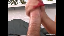 Busty Lindsay Fucked On The Truck's Bed