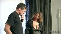 German MILF with Monster Natural Tits Seduce to...