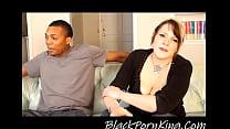 NEWBIE WHITE TEEN TAKES A BIG BLACK COCK IN INTERRAICAL CASTING VIDEO