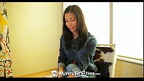 MyVeryFirstTime - Nervous Jade Jantzen has her first DP on camera