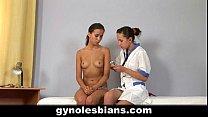 Sweet teen girl seduced by gynecologist