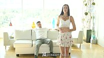 Passion-HD - Brunette Marley Brinx pounded by d...