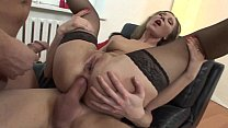 banged anal stockings black in slut Pretty