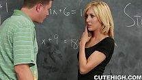 Emily Kae Wants a Long Teacher Cock
