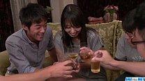 Strong Asian gangbang sex scenes along Ryoko Murakami