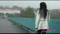 Exhibitionism on the bridge