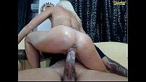 Amateur blonde love big cock 2