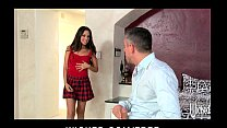 Hot young Latina babysitter fucked by cheating ...