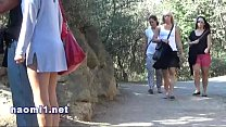 public park blowjob for Naomi