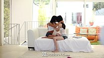 HD - Passion-HD Teens Ariana and Heather fuck t...