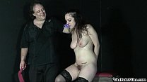 Hardcore sextoys domination and whipping of crying submissive Beau in extreme bd