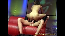 real porn on public show stage