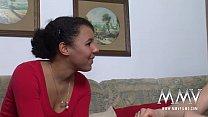 MMV FILMS Shy Amateur Ebony Teen