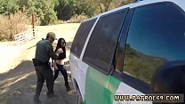 Dani daniels police Russian Amateur Takes it Like a Pro