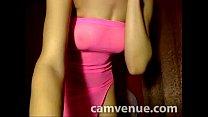 Slender body model teases from home cam