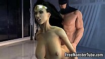 3d Wonder Woman Getting Fucked Hard By Batman Oman1-High 2