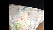 Wetting Diaper Close Up
