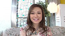 Uncensored Japanese Ayumu Sena blowjob intervie...