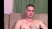Str8 dude with 10'' cock does gay fuckin