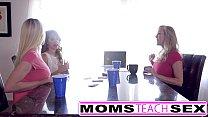 MomsTeachSex - Hot Mom & Teen Friends Orgy Fuck With Neighbor