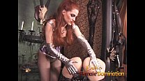 Gagged slave takes everything the mistress has planned for her-6