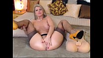 Busty MILF Rubs Clit on Webcam - More Free Cams at