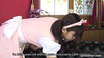 Asian maid takes a sexual program of her master