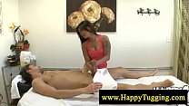 Hot full body asian massage