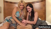 Oiled and Stroked By Charlee Chase & Friend