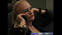 Blonde Mature Kathy Jones Enjoys Sucking and Fu...