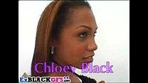 Chloe Black gets rammed by two black dicks