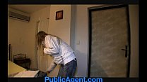 PublicAgent Skinny blonde is a wild nympho in t...