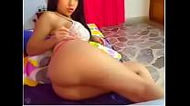 Gostosa se Exibindo na Webcam