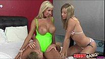 Busty Milf Evita Pozzi seduces hard schlong by the pool