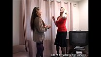 Demi & Sarah play Strip Tickle