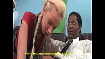 Teen Sucking the Black Therapist