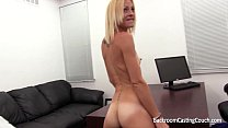 Skinny blonde assfucked and loving it