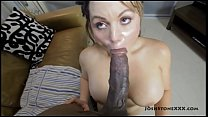 Betty Bangs is Used By Big Black Cock