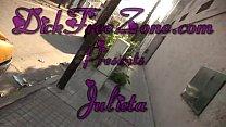 Latina Series Julieta Nude In Public