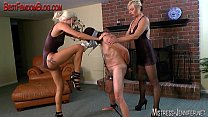 Summer and femdom friend cbt cock torment of ma...