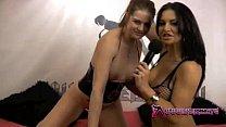 Shebang.TV - Sexy brunette Dionne Mendez mastur...