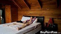 Benji Elliot enjoys masturbating in the bedroom