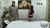 420] Cute Little Asian Mika Kim Gives Old Man Happy Ending