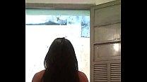Cavala de shortinho brilhante ( Hot girl in tight and shiny shorts)