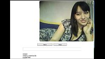 Horny girl flashes on chatrouette - mywildcam.com