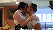 Passion-HD Pierced teen gets fucking for annive...